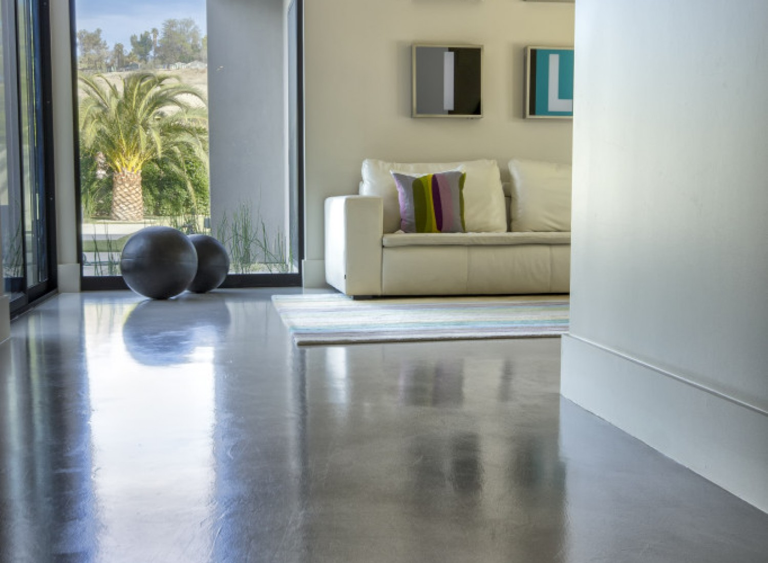 Concrete Overlay Creative Finishes