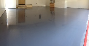 Grey Epoxy with a Polyurea Top Coat