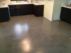 Overlay in Black with Grey Stain