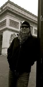 at the Arc De Triomphe!